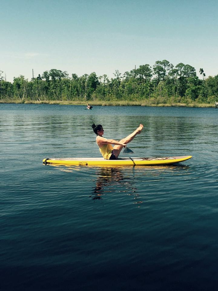 Paddle Board Yoga with The Arb