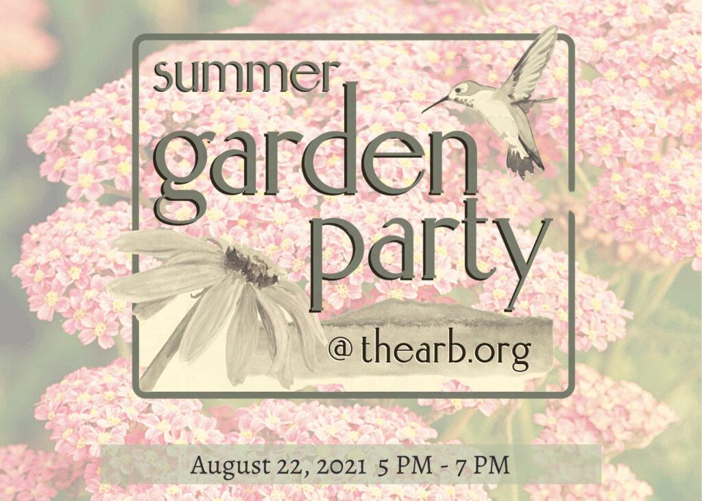 Summer Garden Party Fundraiser
