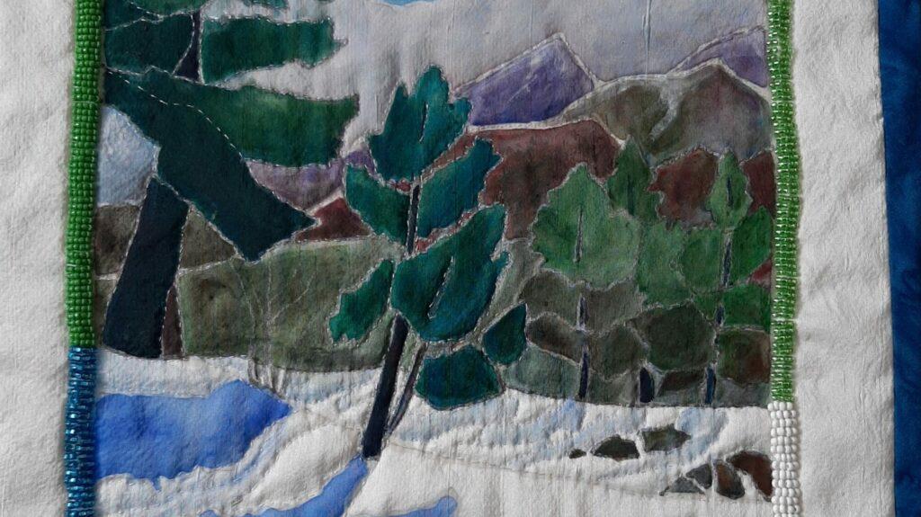 Painting on Silk