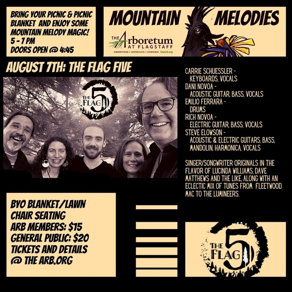Mountain Melodies:  The Flag Five