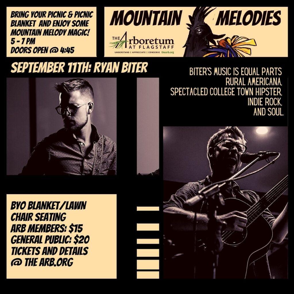 Mountain Melodies:  Ryan Biter