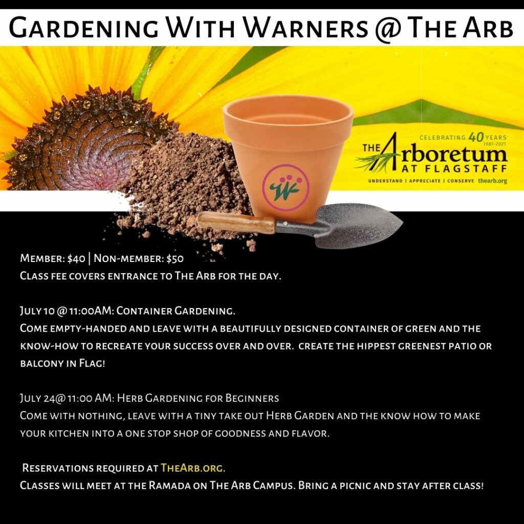 Gardening with Warners at The Arb