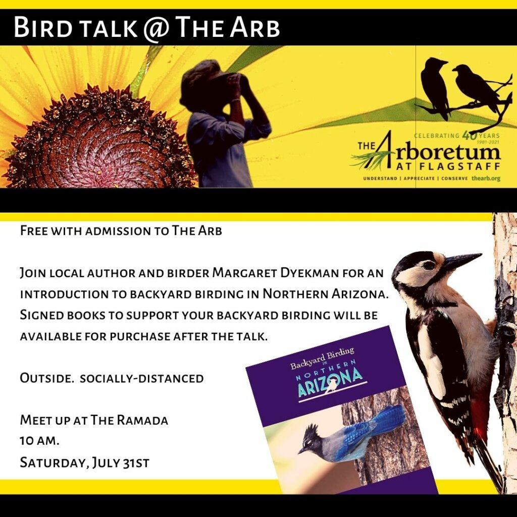 Bird Talk at The Arb