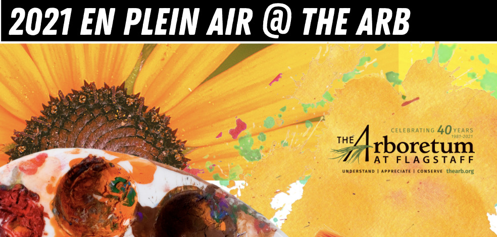 En Plein Air @ The Arb: Calling all artists! enjoy inspiration @ The Arb free of charge September 22 - 24th! Your art supplies are your ticket! come on out and put an artistic spin on Flag Festival of Science by participating en plein aire in open spaces @ the arb