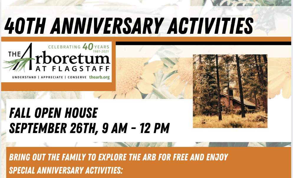 Fall Open House @ The ARb: Bring out the family to explore The Arb for free and Enjoy special anniversary activities: Build your own model log cabin, like the one Frances lived in before she had the Reichardt House built...but smaller Splash into pond-side exploratory fun Adopt a house plant - they were all the rage in 1981, when The Arb was born Conquer a colorful garden scavenger hunt Dig into the compost discovery area take a historical tour of the gardens